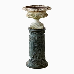 Verdigris Pedestal