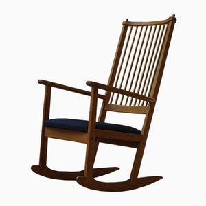 Rocking Chair Mid-Century en Pin par Yngve Ekström pour Swedese, 1970s