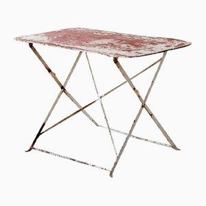 Tavolo da giardino astratto