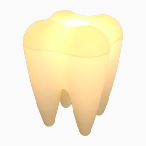 Plastic Stool in the Shape of a Molar Tooth
