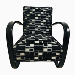 H269 Armchair by Jindrich Halabala for Up Závody, 1930s