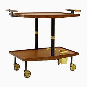 Two-Tier Serving Trolley