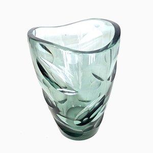 Vase Vintage en Verre par Erich Jachmann pour WMF
