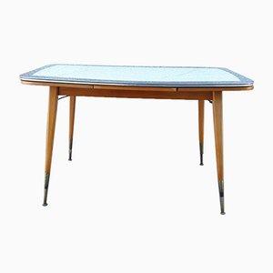Mid-Century Height-Adjustable & Extendable Coffee Table