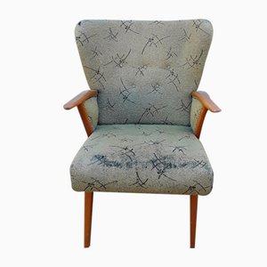 Mid-Century Armchair with Beech Frame, 1950s