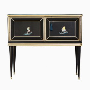 Chinoiserie Sideboard or Cabinet by Umberto Mascagni