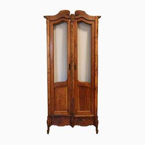 19th-Century Walnut Bookcase