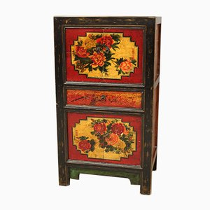 Lacquered and Painted Cabinet