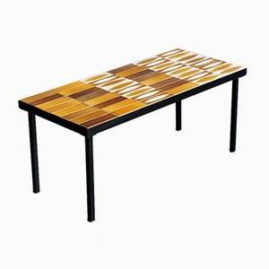 Tavolino da caffè Navette di Roger Capron, anni '60