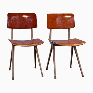 Dutch Result Chairs by Friso Kramer for Ahrend De Cirkel, 1960s, Set of 2