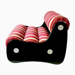 Lounge Chair with Tubular Cushions