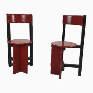 Bastille Stühle von Piet Blom, 1960er, 2er Set