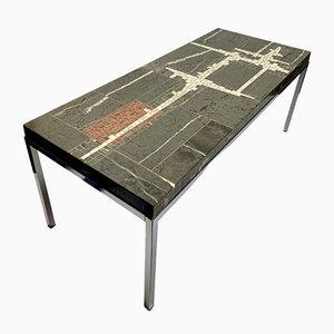 Tavolino da caffè in pietra