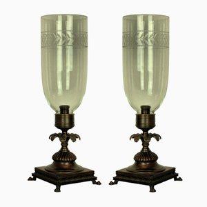 Lampade da tavolo, anni '30, set di 2