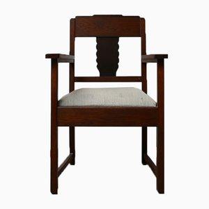 Dutch Art Deco Amsterdam School Armchair
