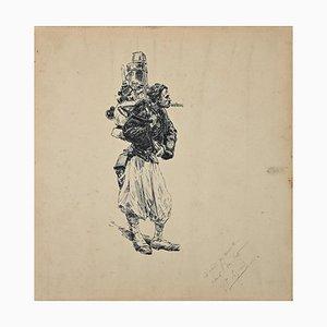 Soldat Arabe, Legrand, R. Legrand, 1880