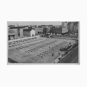 Éducation physique et de l'extérieur pendant le fascisme en Italie, Photo Noir & Blanc, 1934