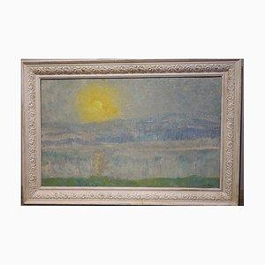 Shining Sunrise, Öl auf Leinwand, 1978