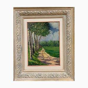 Edgardo Corbelli, Spring Landscape, 1934