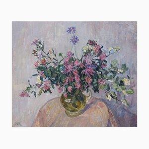 Maya Kopitzeva, Rose Flowers, 1980