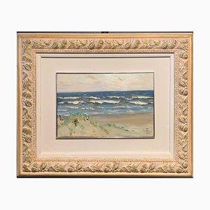Boris Lavrenko, Beach on the Ocean, 1982