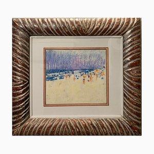 Pastel playa, 1973
