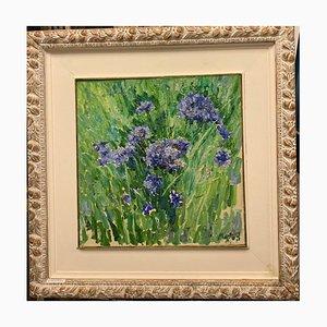 Georgij Moroz, Blue Cornflowers, 1996
