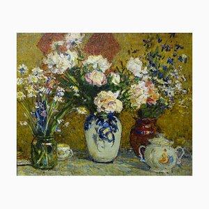 Nikolai Tulkounov, Flowers, 1970