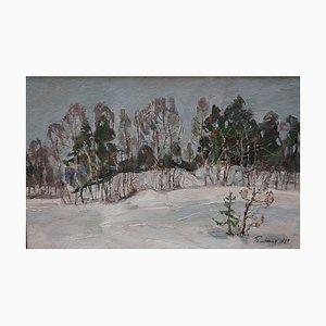 Leonid Vaichlia, Near the Forest Snow, 1987