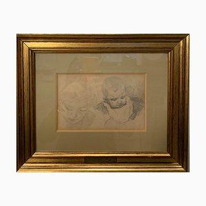 Giuseppe Danieli, Mom and Baby Maternity, 1890