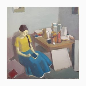 Interior with Figure and Still Life, 2009