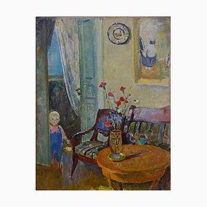 Gleb Savinov, Inside with Little Girl, 1995