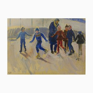Eiskunstlauf, 1950