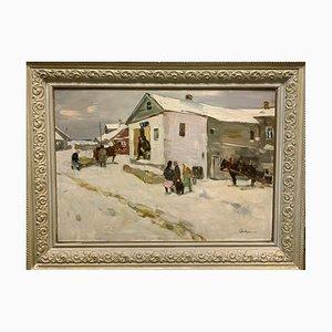 Boris Lavrenko, Little Shop in the Village, 1980