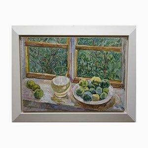 Maya Kopitzeva, Apples Near the Window, 1980