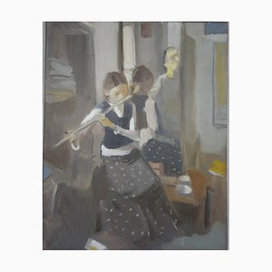 In the Mirror with Flute, 2009