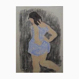 Edgardo Corbelli, Little Dancer, Pastel, 1955