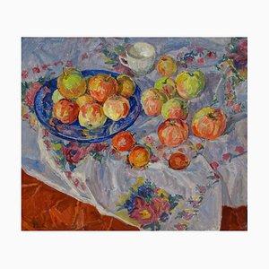Maya Kopitzeva, Fruit on the Table, 1980
