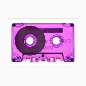 Tape Collection, Side One Only Pink, Pop Art Color Photograph, 2021