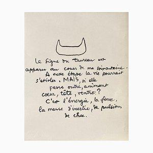 Entre-Deux Le Signe du Taureau par Le Corbusier