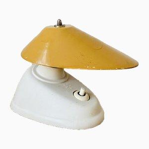 Tischlampe aus Bakelit mit verstellbarem Schirm