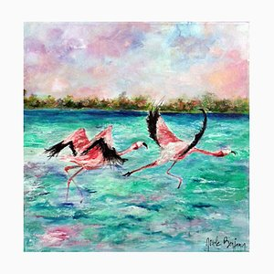 Greater Flamingos, 2018
