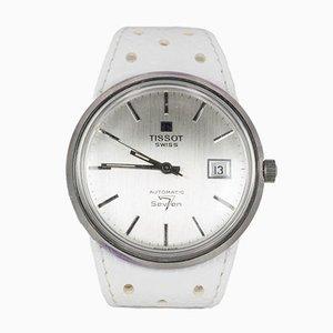 Vintage Tissot Seven 7 Automatic Wristwatch in Steel, 1970s