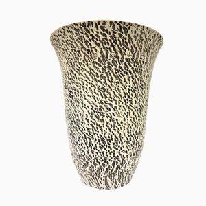 Jarrón de cerámica iluminado de Pol Chambost, años 30
