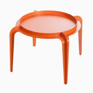 Tavolino rotondo Hafucha arancione di Gilli Kuchik & Ran Amitai, 2015
