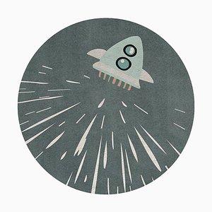 Tappeto Thunder Rocket rotondo di Covet Paris