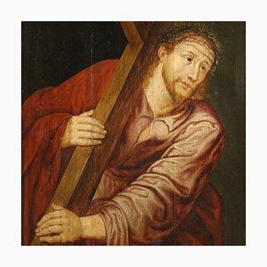 Antiker Christus mit Kreuztafel, 17. Jahrhundert