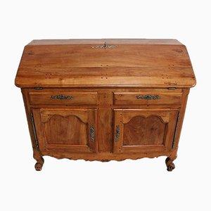 Schreibtisch oder Sekretär aus Kirschholz mit Schreibtisch, 18. Jh