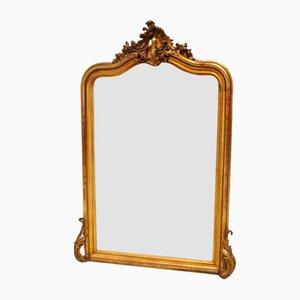 Antique Louis Philippe Gilt Mirror, 19th Century