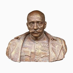 Bust of a High Ranked Austro-Hungarian Army Officer, Hungary, 1930s
